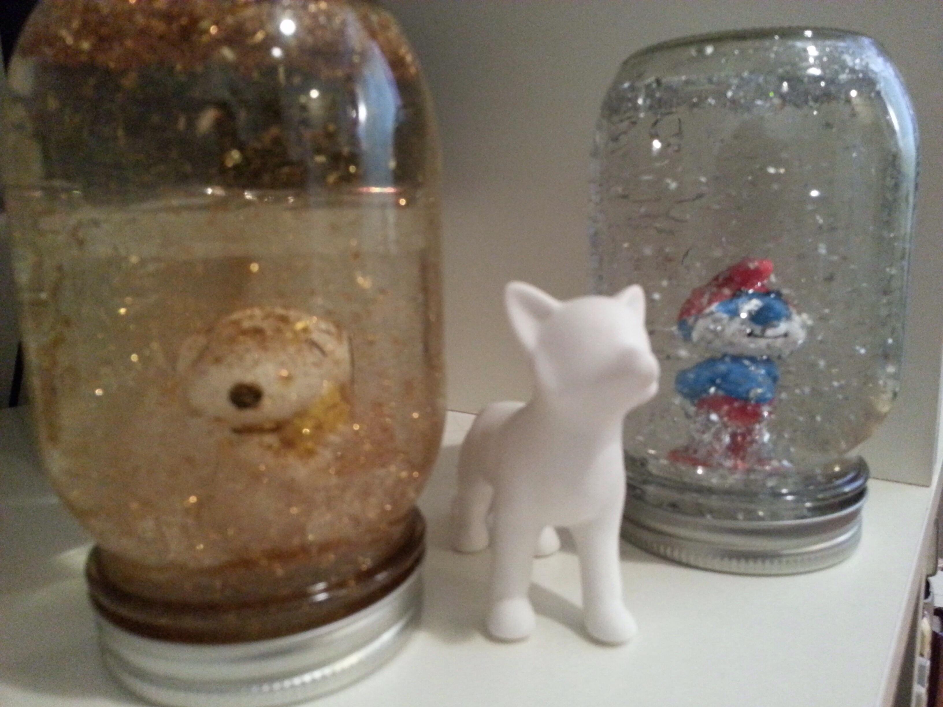 atelier diy : boule à neige! | une chic geek