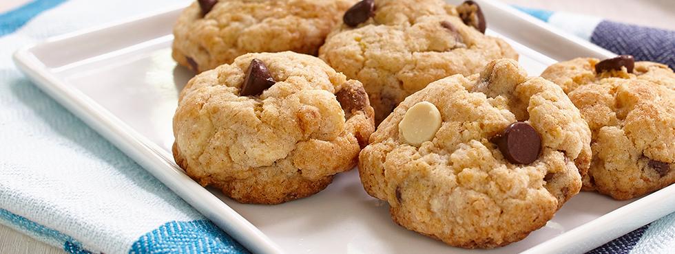 biscuits choco banane