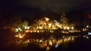 jardin botanique lanternes