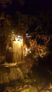 jardins de lumière cascade