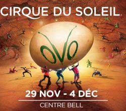 ovo affiche cirque du soleil
