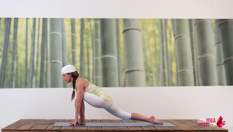 pratiquer le yoga la maison avec annie langlois une chic geek. Black Bedroom Furniture Sets. Home Design Ideas