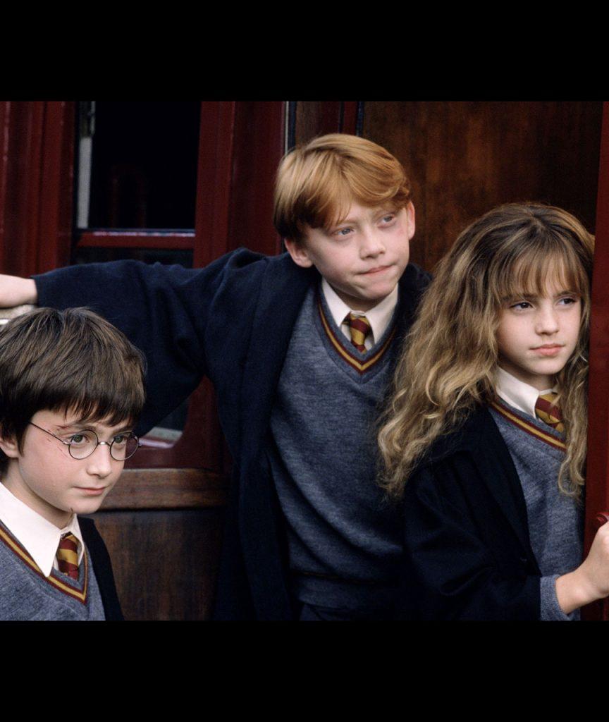 Harry Potter, Hermione et Ron