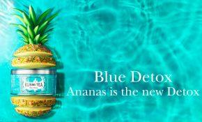 kusmi tea blue detox eau