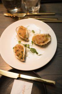 Huîtres gratinées Verses
