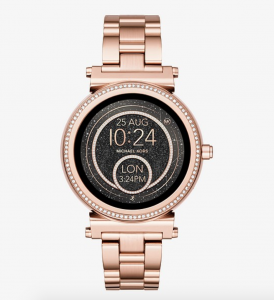 montre intelligente michael kors