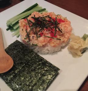 tartare de saumon, Ramen Ya