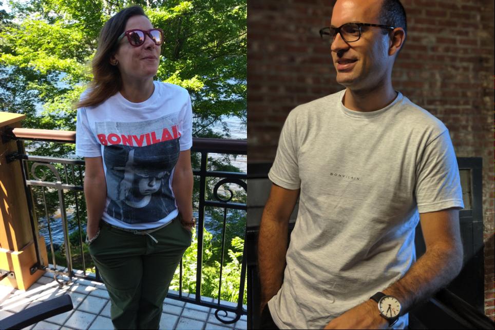 t-shirts bonvilain
