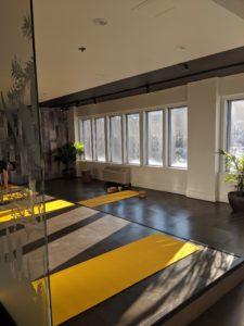 yoga studio spa eastman