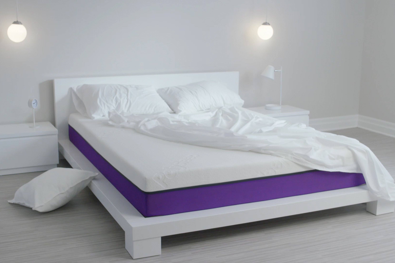 on a test le matelas polysleep une chic geek. Black Bedroom Furniture Sets. Home Design Ideas