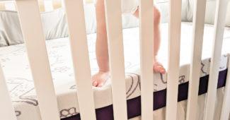 matelas polysleep pieds bébé