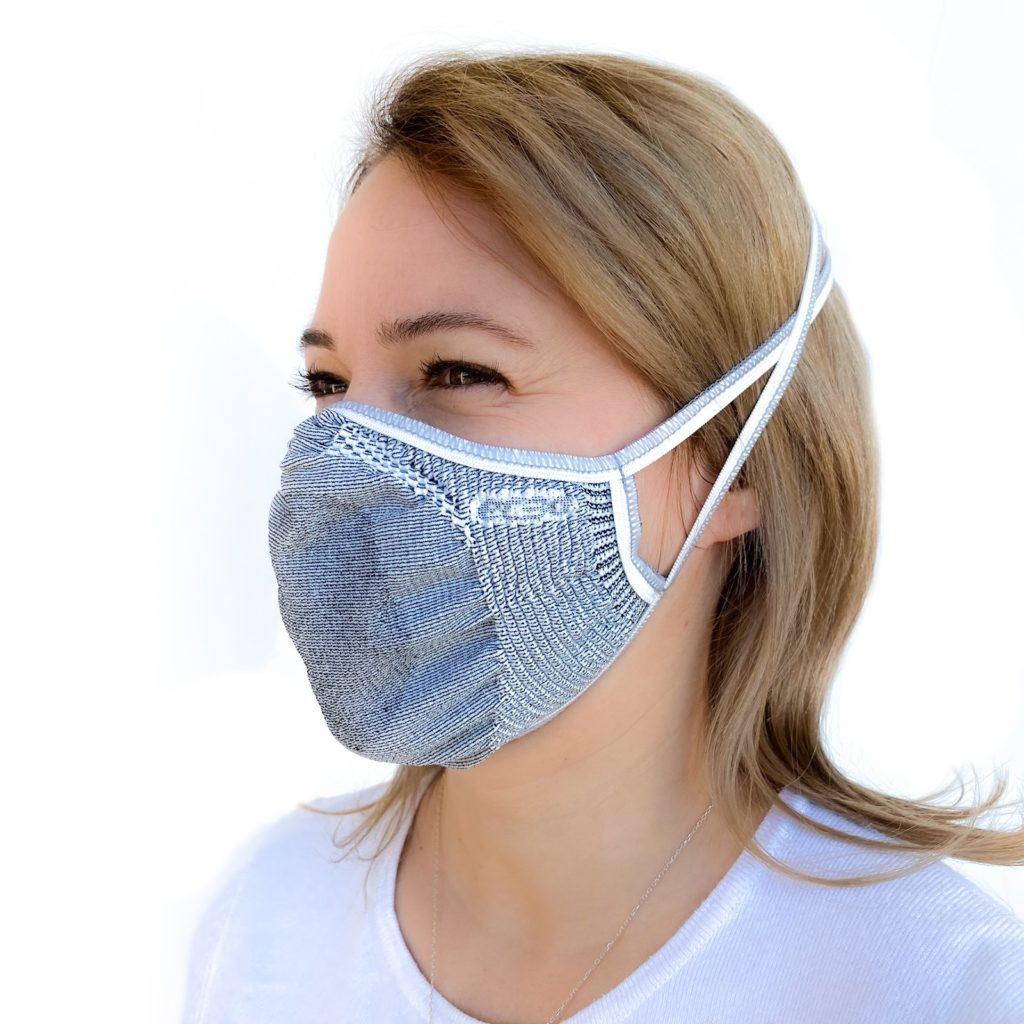 masque fibre de cuivre
