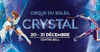 crystal affiche montreal cirque du soleil