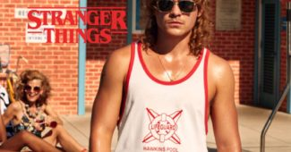 Stranger Things Cover Une chic geek left